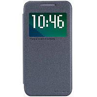 Кожаный чехол Nillkin Sparkle для HTC Desire 510 чёрный