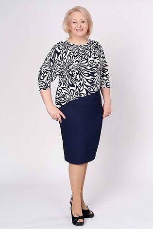 Нарядное женское платье большого размера, фото 2