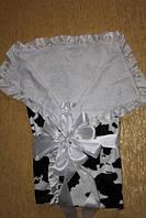 Велюровый конверт-одеяло для новорожденного, фото 1