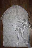 Кружевной конверт для новорожденного, фото 1