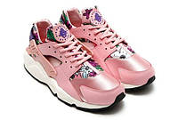"Кроссовки женские Nike Huarache Pink Floral  ""Розовые с цветочками"", фото 1"