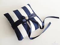 Свадебная подушечка для колец (15х15см)