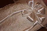 Кружевной конверт для новорожденного на выписку С вуалью, фото 3