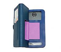 """Универсальный чехол-книжка GS Book Case """"S"""" Фиолетовый"""