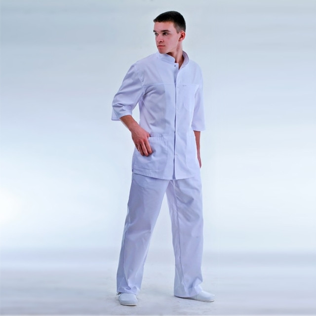 Медицинский мужской костюм Доктор р.48 (пл.тк.210)