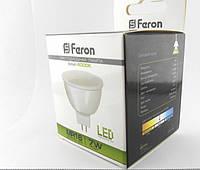 Светодиодная лампа Feron LB-96 MR16 G5.3  7W 4000K