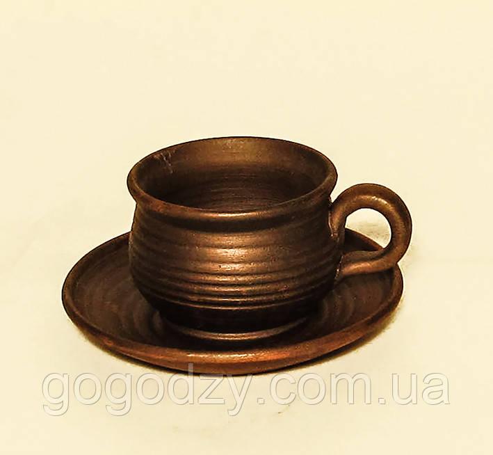 Горнятко кавове з блюдцем