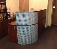 Ресепшн стойка угловая для офиса (R-93)
