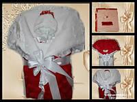 Зимний набор на выписку из роддома для девочки, фото 1