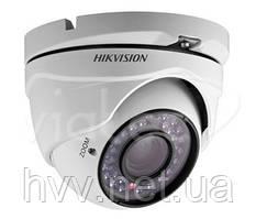 Видеокамера купольная аналоговая цветная Hikvision DS-2CE55A2P-IRM (2.8 мм)