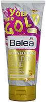 Лосьон для тела DM Balea Bodylotion Golden Shine 200мл.