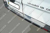 Накладка на Задний бампер R.Trafic/O.Vivaro 02-