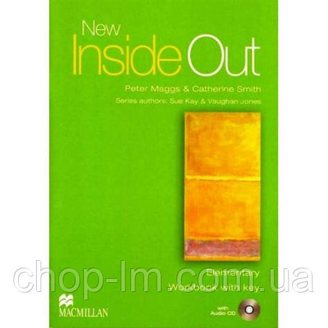 New Inside Out Elementary Workbook with Key Pack, фото 2