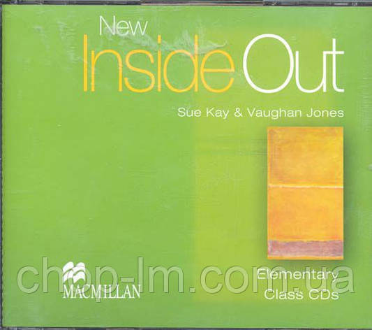 New Inside Out Elementary Class Audio CD, фото 2
