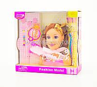 Кукла для причесок «Defa Lucy» (голова куклы) 8056