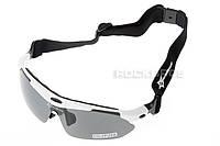 Тактические очки «Oakley Polarized» с 5-ти линзами Белый