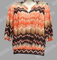 Блуза женская из модной ткани лето 2016