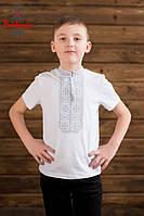 Вишиванка для хлопця Традиційна сіра