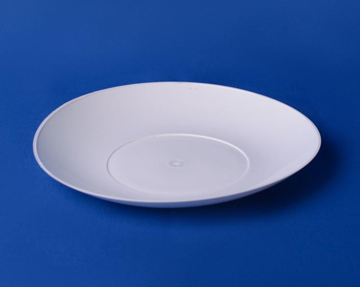Тарелка пластиковая закусочная (200 мл)