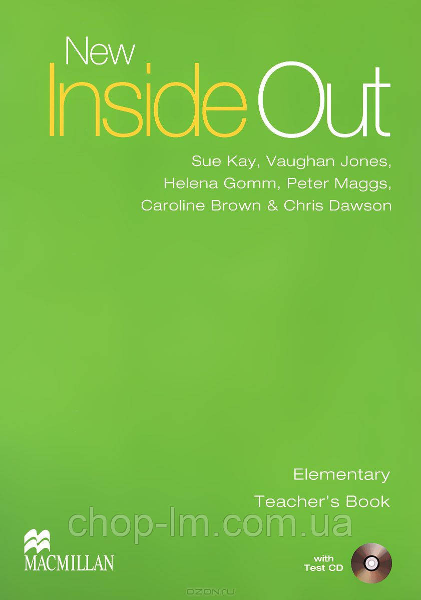 New Inside Out Elementary Teacher's Book and Test CD