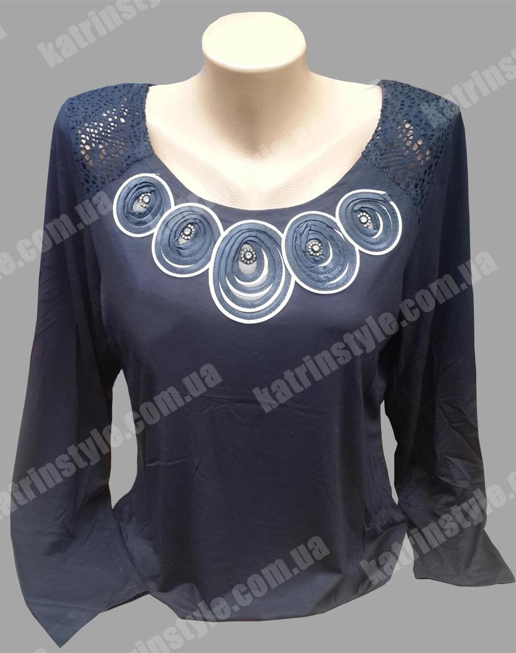 Оригинальная женская блуза хорошего качества