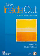 New Inside Out Beginner Student's Book with CD ROM Pack (учебник с диском)