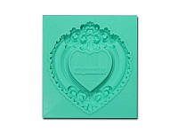 Молд от Арт ПроСвет - Рамка Сердце малое, 43x50 мм