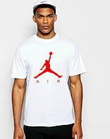 "Футболка мужская ""Jordan"" белая Джордан"
