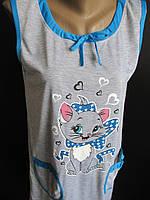 Сорочки для сна без рукавов., фото 1