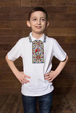 Вишиванка для хлопчика Подільська кольорова