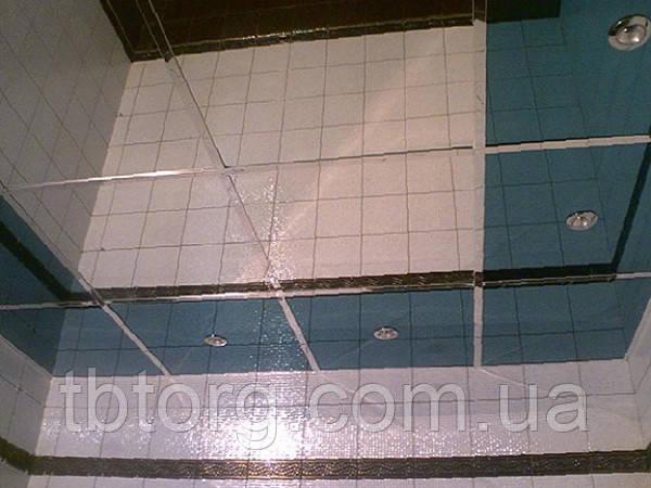 Стелі армстронг металеві касети 600х600. Дзеркало