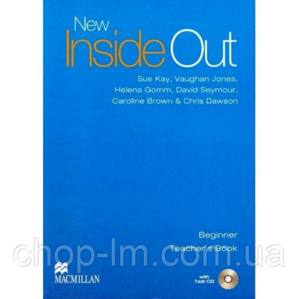 New Inside Out Beginner Teacher's Book and Test CD