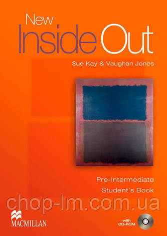New Inside Out Pre-Intermediate Student's Book with CD ROM Pack (учебник с диском), фото 2