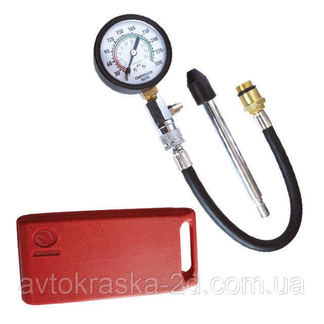 Компрессометр для бензиновых двигателей Intertool AT- 4001