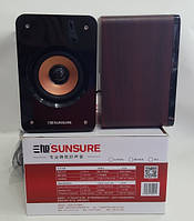 Колонки деревянные пассивные Sunsure M58
