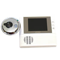 Дверной видеоглазок Lux C1 ЖК экран, запись визитёров на Micro SD