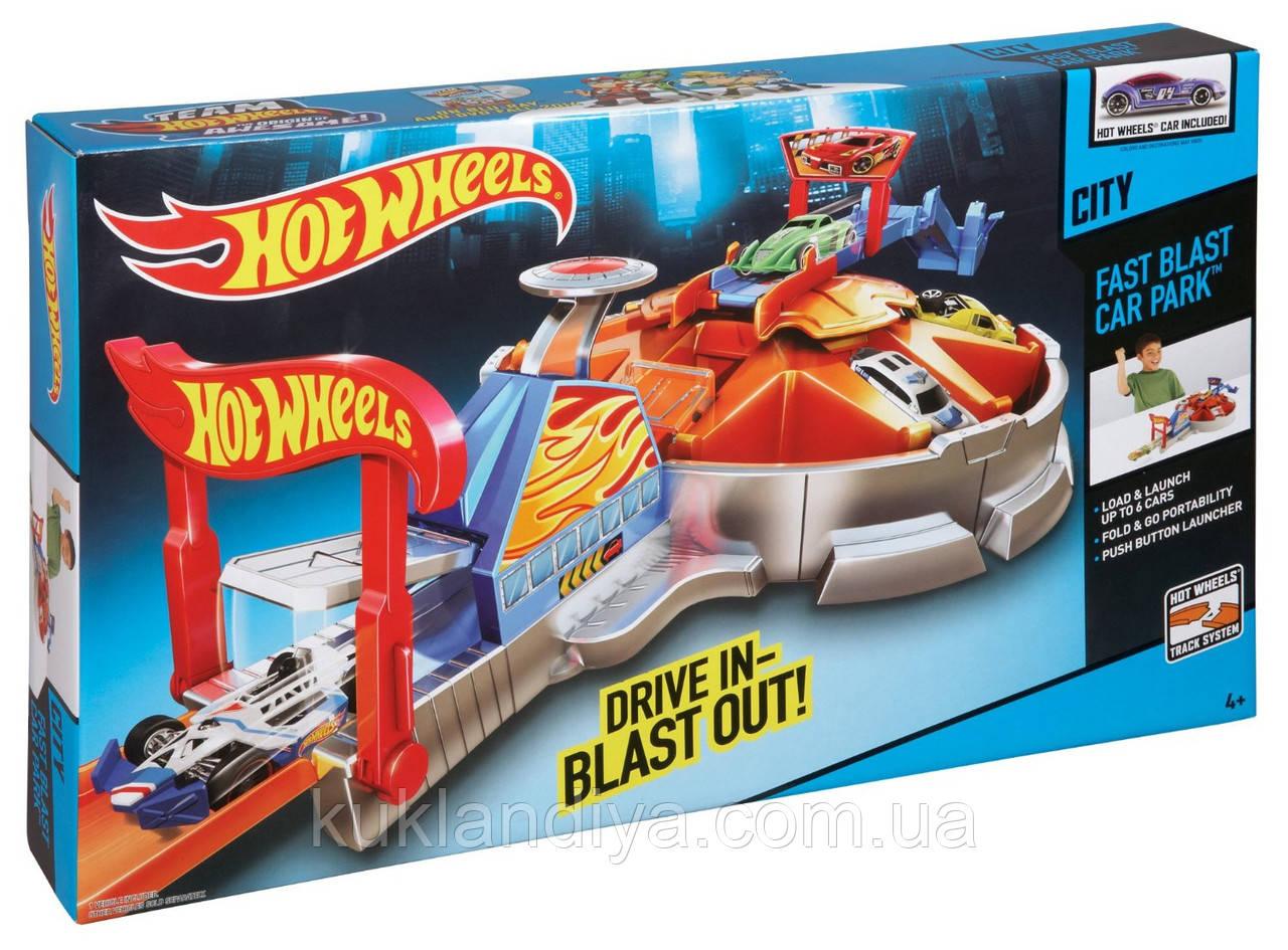 Hot Wheels Launching Garage / Хот Вілс Гараж