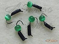 Мормышка Гвоздешарик 1,5 мм / зеленый