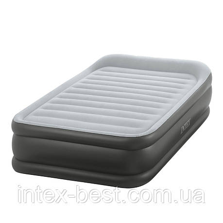 Intex 64432 - надувная кровать Deluxe Pillow Rest Raised Bed 191x99x42см, фото 2