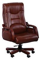 Кресло Ричмонд кожа коричнев.