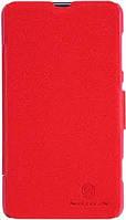 Кожаный чехол Nillkin Fresh для Nokia Lumia 625 красный