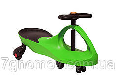 Машинка бибикар детская зеленая Smart Car Green арт. SM-G