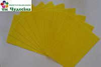 Фетр 1мм 50*40 жёлтый, фото 1