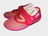 Тапочки Сеточка для девочки, текстильная обувь Vitaliya, ТМ Виталия Украина, р-р 23, 24, 25.5, 26