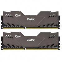 Модуль памяти для компьютера DDR3 8GB (2x4GB) 1866 MHz Dark Series Gray Team (TDGED38G1866HC11DC01)
