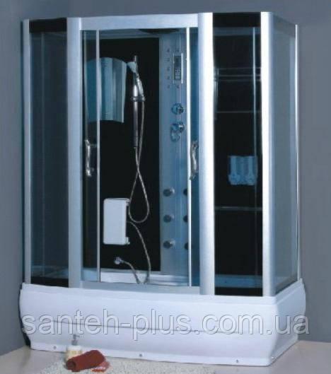 Гидробокс Atlantis прямоугольный 150*85*220 с КПУ и глубоким поддоном