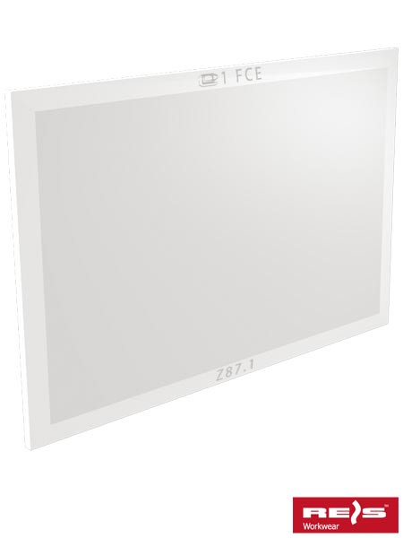 Сменное стекло прозрачное O-PL90C