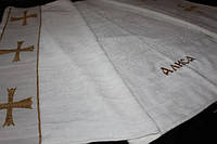 Именная крыжма полотенце с вышивкой, фото 1