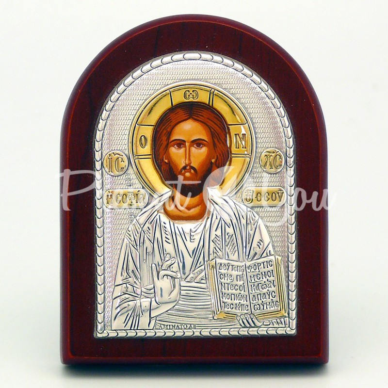 Икона «Христос Спаситель», 5х7 см.