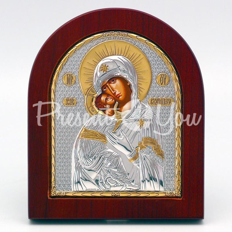 Владимирская икона Божией Матери, 10х12 см.